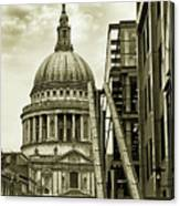 Stairs To St Pauls Canvas Print