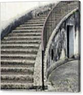 Stairs To Underground Canvas Print
