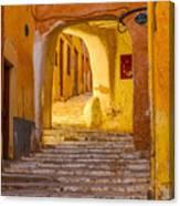 Stairway Inside Beni Isguen Canvas Print