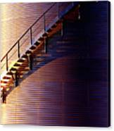 Stairway Abstraction Canvas Print