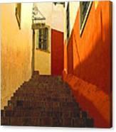 Stairway Guanajuato Canvas Print