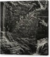 Stairway In The Glen Canvas Print