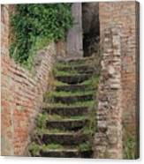 Stairway Less Traveled Canvas Print