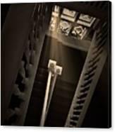 Stairway Light, Redstone Castle, Colorado Canvas Print