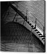 Stairway Shadow Canvas Print