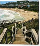 Stairway To Beach Canvas Print