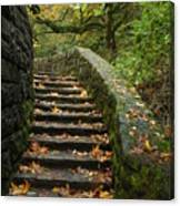 Stairway To Fall Canvas Print