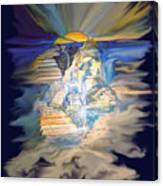 Stairway To Heaven Digital Canvas Print