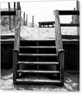 Stairway To Lbi Heaven Canvas Print