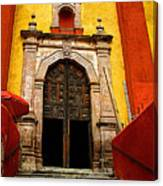 Stairway To The Cathedral Canvas Print