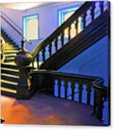 Stairwell Of Color Canvas Print