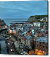 Staithes Evening Canvas Print
