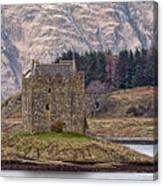 Stalker Castle Canvas Print