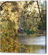 Stalking The Boathouse Canvas Print