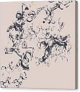 Stallions Inc. Canvas Print