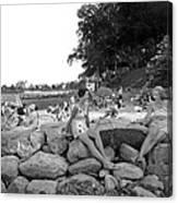 Stamford Shorewood Beach Club Canvas Print