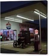 Standard Oil Museum After Dark 20 Canvas Print