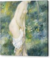 Standing Bather Canvas Print