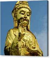 Standing Budda Canvas Print