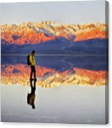 Standing On Water Canvas Print