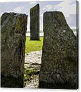 Standing Stones Of Stenness Canvas Print