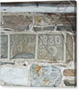 Standing Symbols Canvas Print