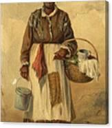 Standing Woman Canvas Print