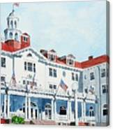 Stanley Hotel Two Canvas Print