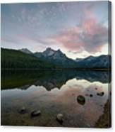 Stanley Lake Canvas Print