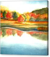 Stanley Park In The Fall Canvas Print