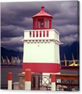 Stanley Park Lighthouse Canvas Print