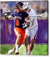 Stanwick Lacrosse Canvas Print