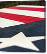 Star And Stripes Canvas Print