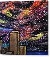 Star Dancing Canvas Print