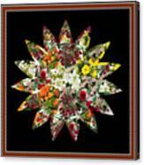Star Flower Bouquet Creation By Navinjoshi At Fineartamerica.om Graphics Art   Elegant Interior Deco Canvas Print