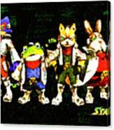 Star Fox Zero Canvas Print