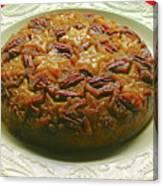 Star Fruit Upside Down Cake Canvas Print