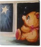 Star Light Bear Canvas Print