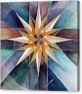 Star Mandala 2  Canvas Print