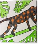 Star. Monkey  Canvas Print