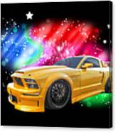 Star Of The Show - Mustang Gtr Canvas Print