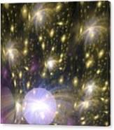 Star Particles Canvas Print