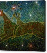 Star Rider Canvas Print
