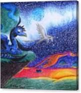 Star Rise Canvas Print