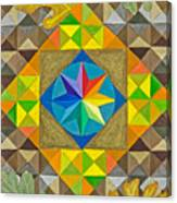Star Series Four Canvas Print