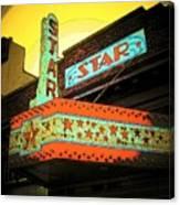 Star Theater Canvas Print