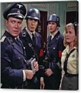 Star Trek Patterns Of Force Episode Publicity Photo Number Two 1968 Canvas Print