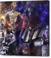 Star Wars Compilation Canvas Print