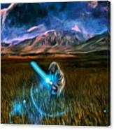 Star Wars Field Canvas Print