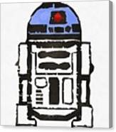 Star Wars R2d2 Droid Robot Canvas Print